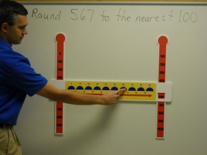 Slide-A-Round Teacher's Aid